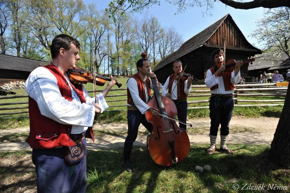 Hudecká muzika Radhošť - květen 2012